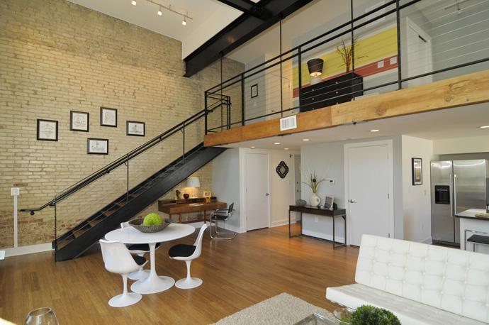 loft moderno alto