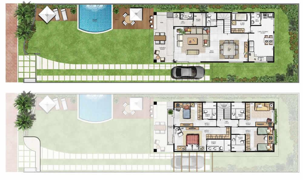 casa com área externa