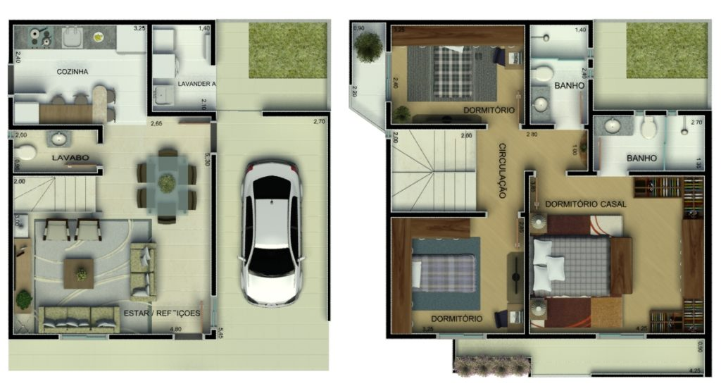 casa pequena 2 pavimento
