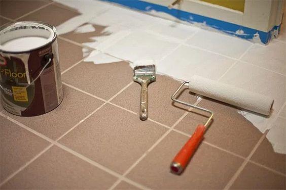 pintura de piso no chão tinta para azulejo