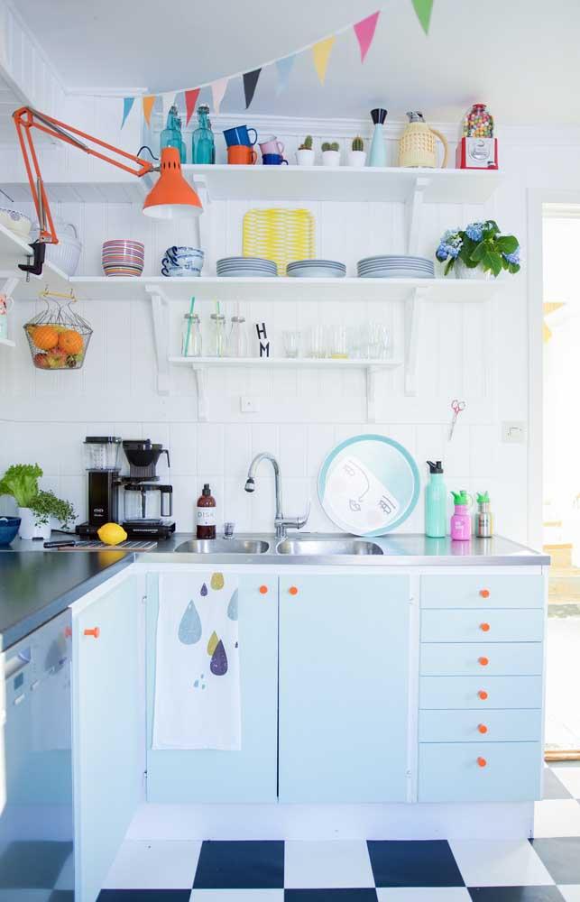 cozinha pequena decorada