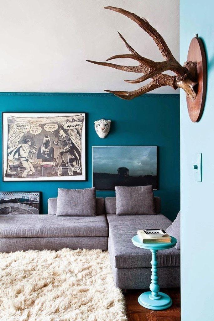 tons de azul para decorar