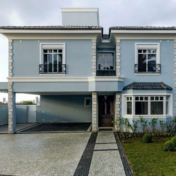 azul claro para fachada