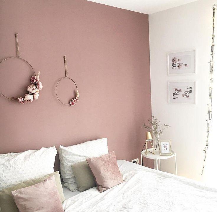 quarto rosa antigo