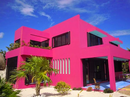 fachada tom de pink