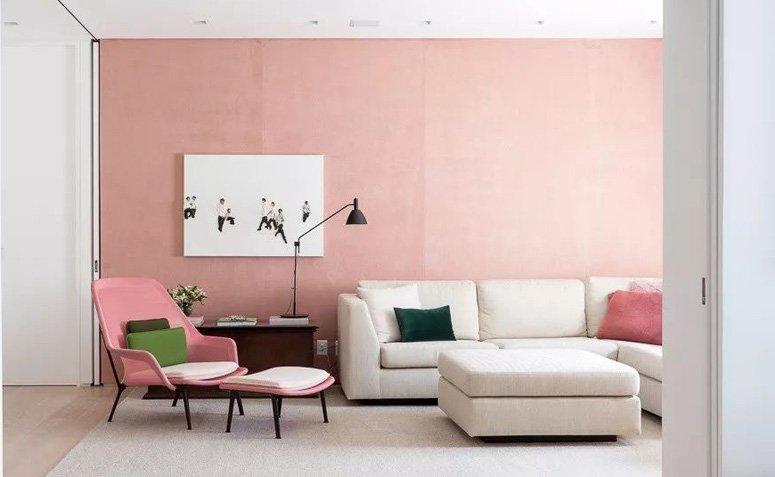 decoração em rosa