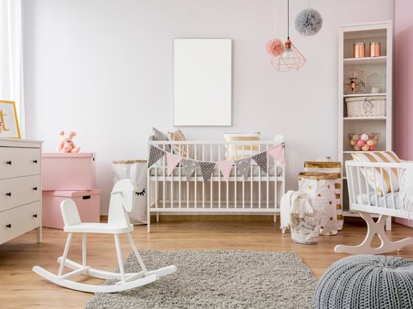 quarto decorado para bebê