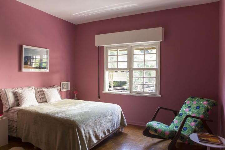 paredes rosa antigo