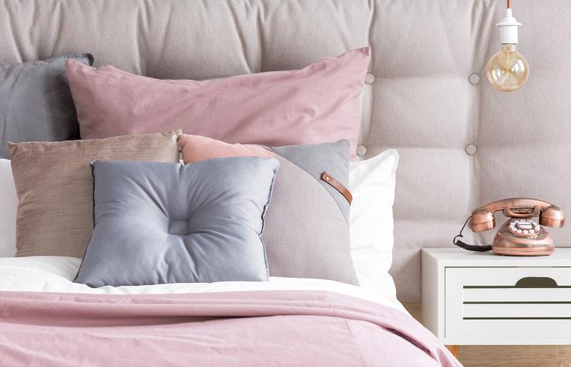 cama decorada