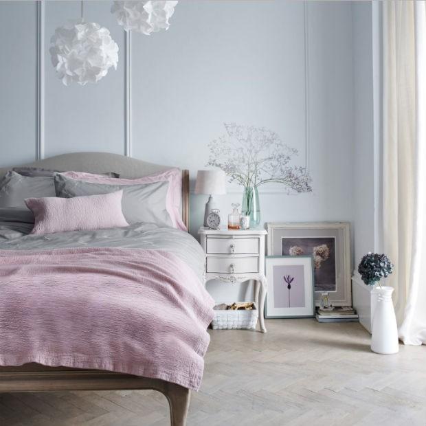 decoração romantica para quarto