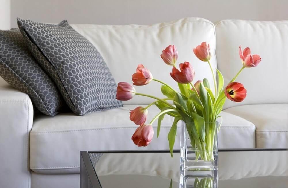 flores rosa para decorar