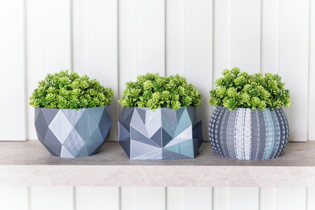 vasos de plantas