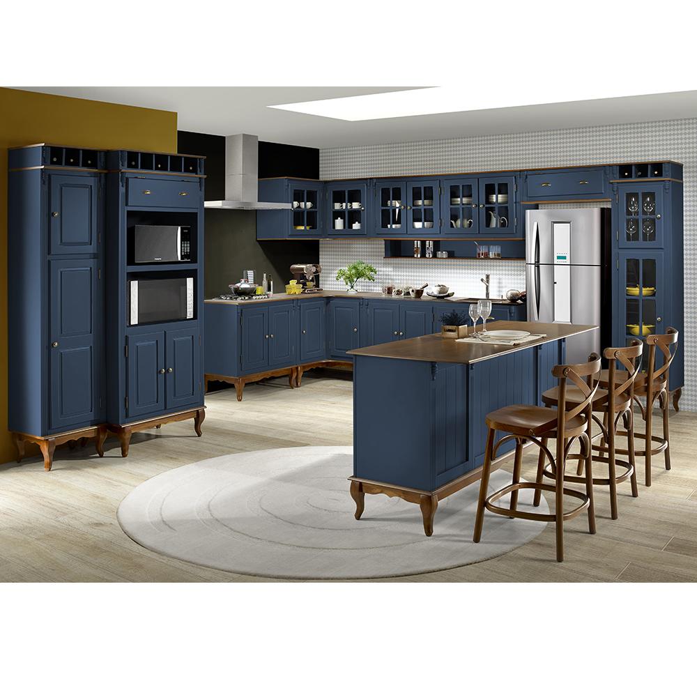 cozinha completa decorada