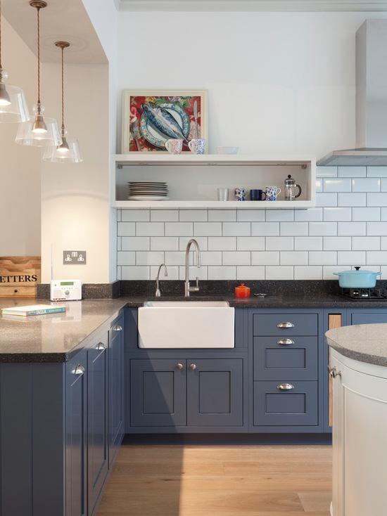 azul petróleo para cozinha