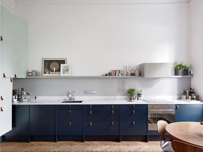cozinha simples e elegante