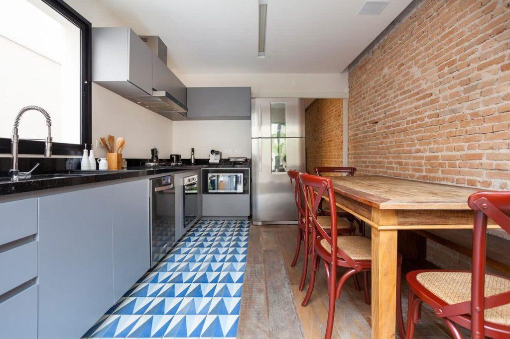 cozinha rústica decorada