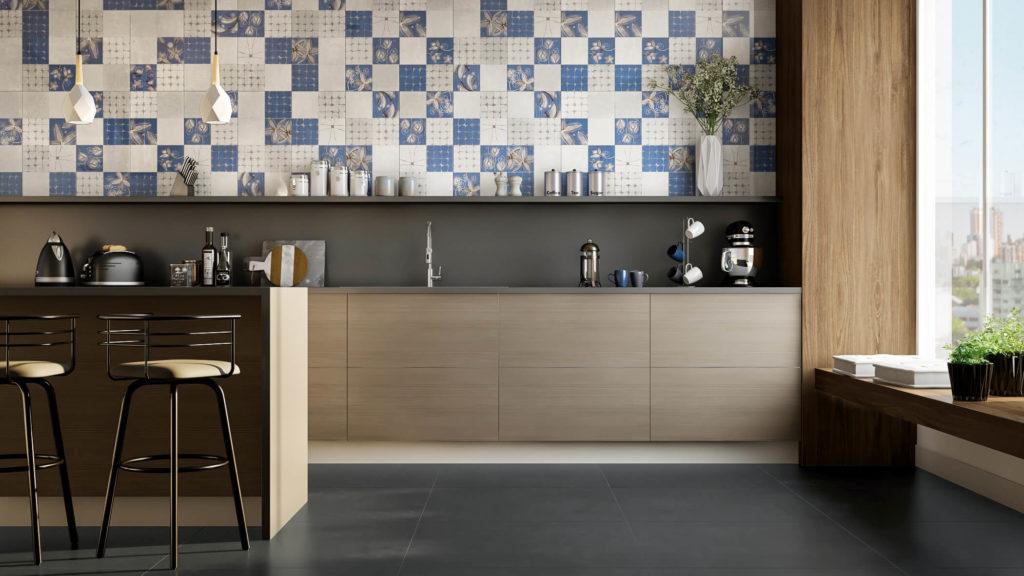 piso cinza decorativo